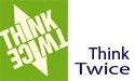 Educational Theater Programs | Think Twice - Cyberbullying logo